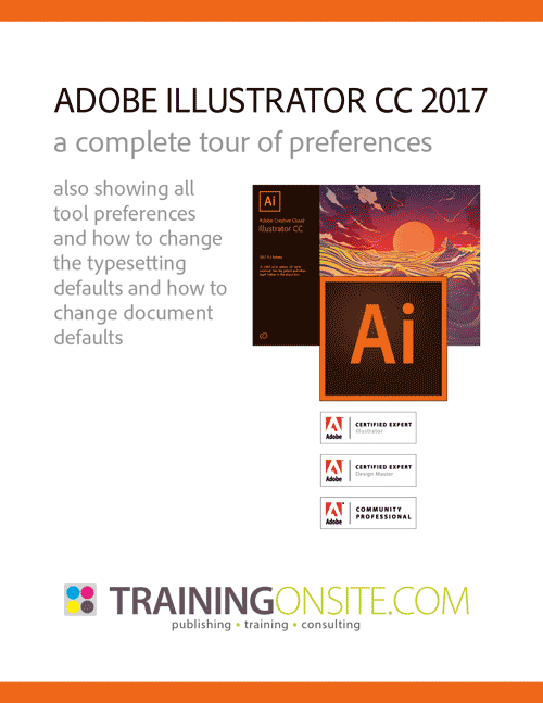 Iillustrator CC 2017 tour preferences
