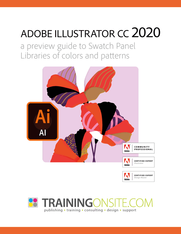 Illustrator CC 2020 swatches