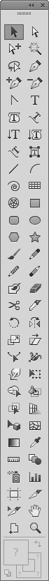 Illustrator CC custom tool panel
