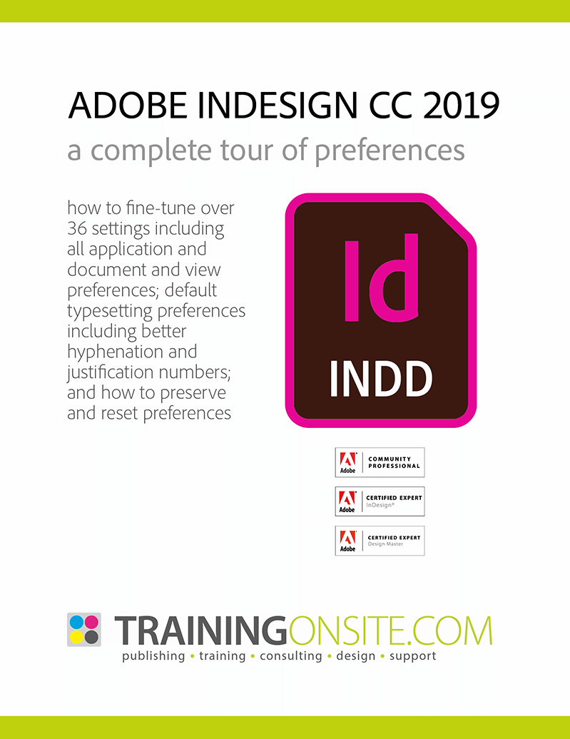 InDesign CC 2019 tour preferences 800px