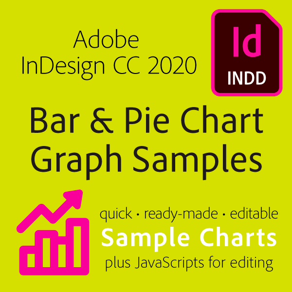 Mikes InDesign 2020 Bar and Pie Graph Starters