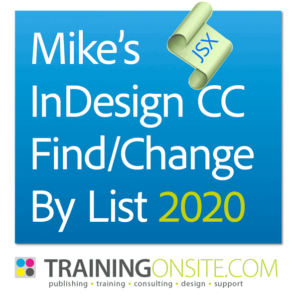Mikes Find Change By List 2020
