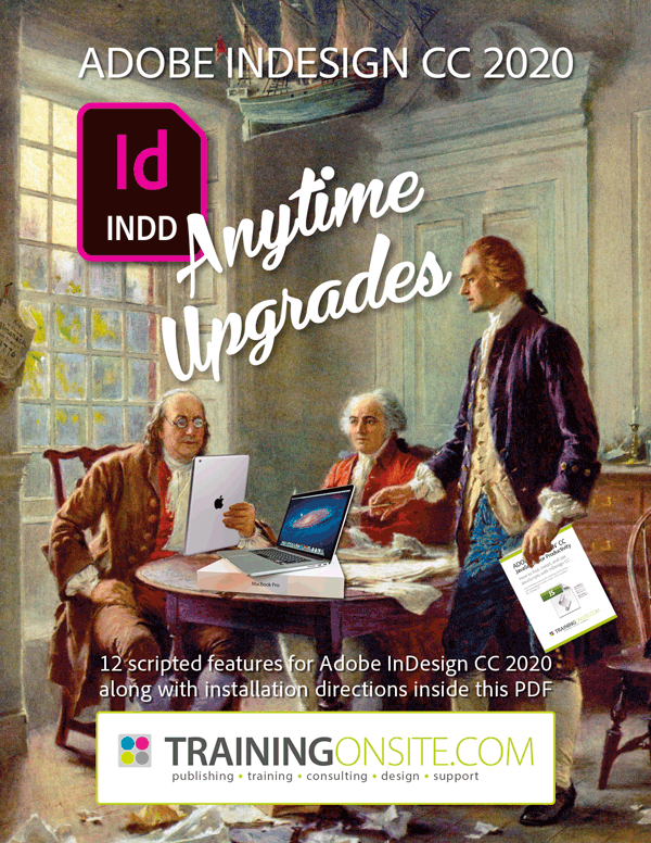 Mike's InDesign CC 2020 Anytime Upgrade